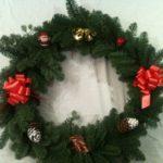 christmas wreath giant